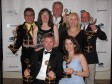 The Blue World team following our first Emmy award in 2010 for season 2.