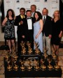 The Blue World team with all of our Emmy Awards for 2010!!! (Wins in three categories). Photo by Todd Kelly.