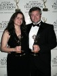 Christine and Jonathan Bird with their Emmy Awards.  It's Christine's first Emmy! Photo by Pierre Séguin.