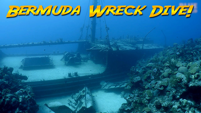 Latest Webisode: Diving the Hermes Wreck in Bermuda